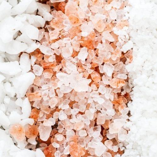Healthy Natural Edible Salts